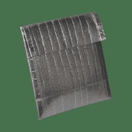 Grande pochette isotherme isopro, se ferment par un revers au même titre qu'une enveloppe.